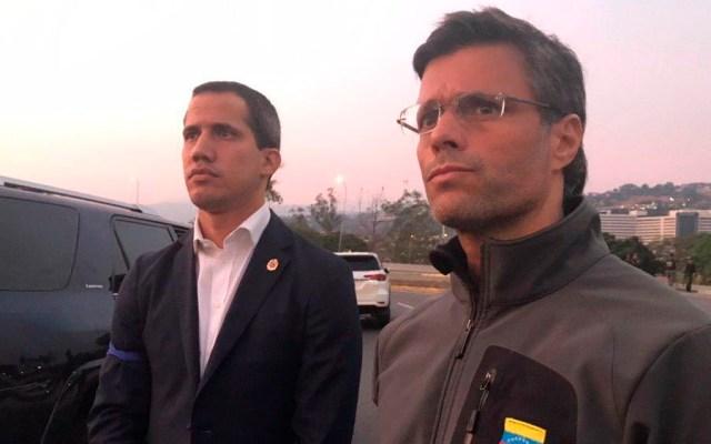 Militares se sublevan contra Maduro; Guaidó llama a Fuerza Armada a sumarse - guaidó leopoldo lópez