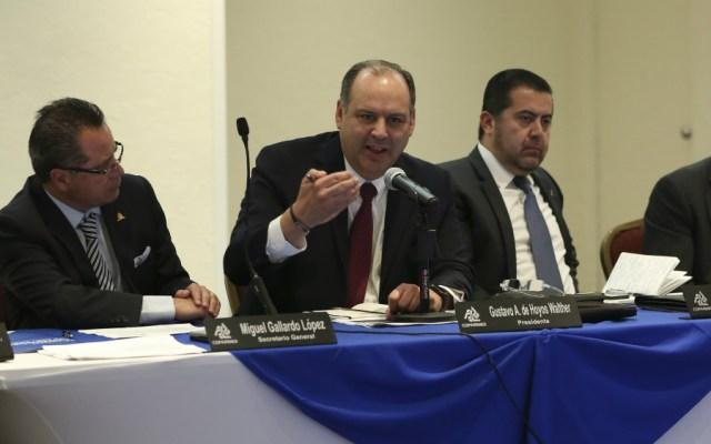 Presidente de Coparmex no representa realmente a empresarios, afirma AMLO - Gustavo de Hoyos Coparmex