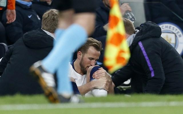 Kane se perdería lo que resta de la temporada por lesión - Harry Kane lamenta lesión contra el Manchester City