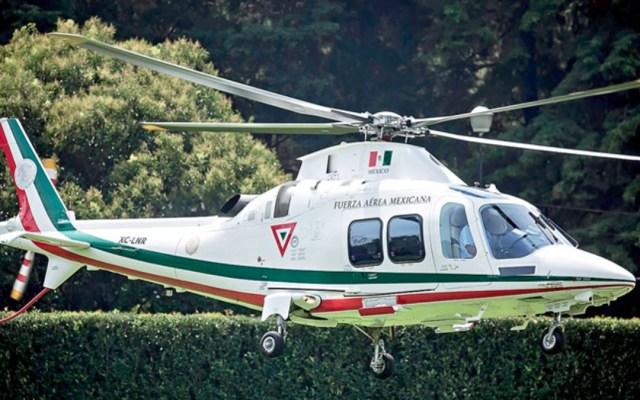 Sedena deberá informar sobre vuelos de helicóptero del EMP - helicóptero inai estado mayor presidencial