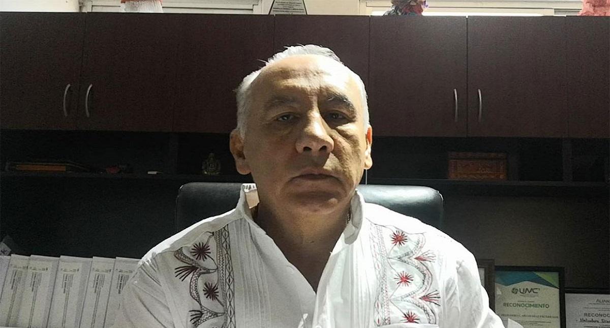 Coordinador de PC Oaxaca, Heliodoro Díaz. Foto de Quadratín