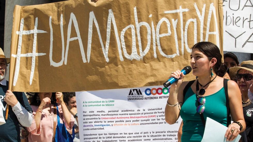 Estudiantes de la UAM interpondrán amparo para volver a clases - Foto de Notimex