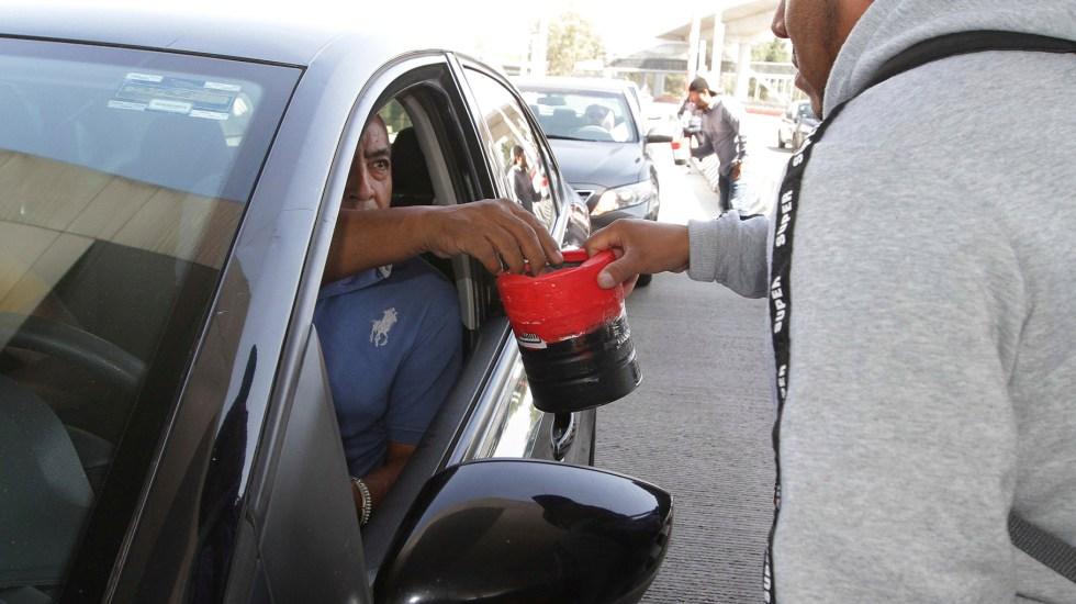 Toma de casetas suma 3 mil 150 mdp en pérdidas en lo que va de 2020 - Huelguistas de la Universidad Autónoma de México tomaron la caseta de cobro Tlalpan de la autopista México-Cuernavaca para