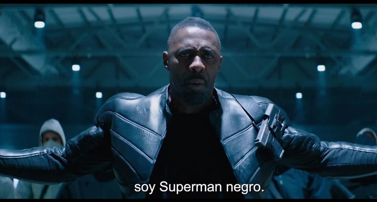 Idris Elba. Captura de pantalla