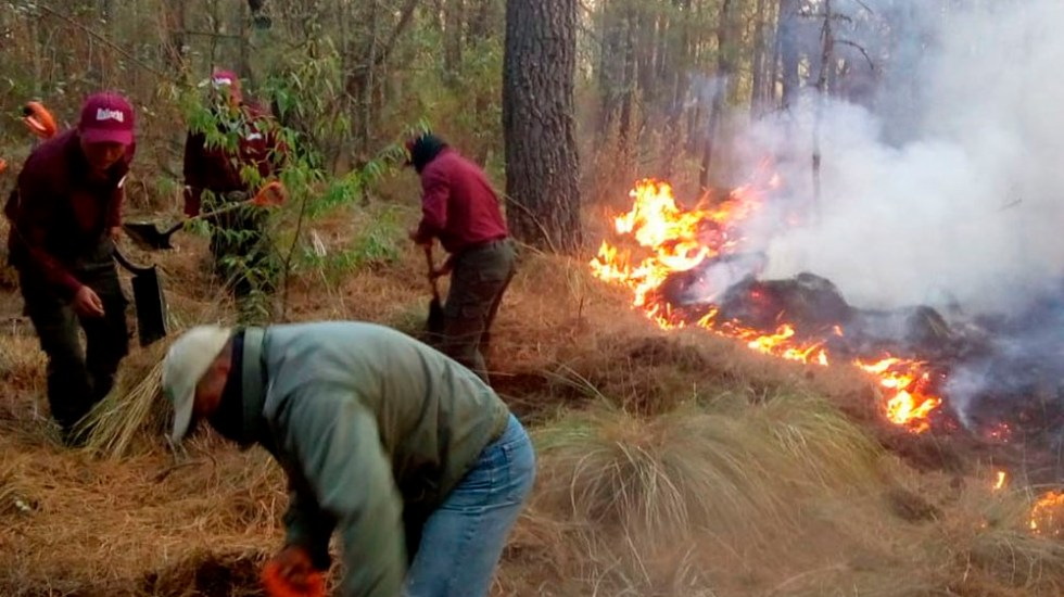Continúa incendio en La Malinche, Tlaxcala - incendio la malinche