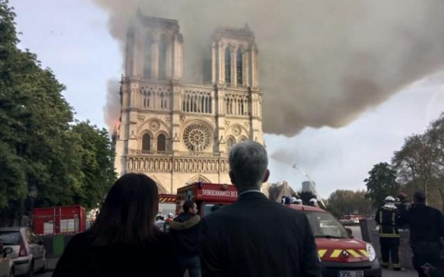 Posible error humano impidió rápido control de incendio en Notre-Dame - incendio en notre-dame