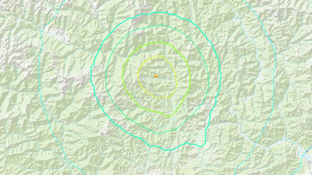 Sismo magnitud 5.9 remece el noreste de India - India sismo