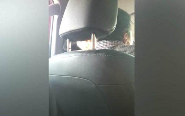 #Video Graban intento de extorsión en carretera de Nuevo Laredo - Intento de extorsión en carretera Nuevo Laredo-Monterrey. Captura de pantalla