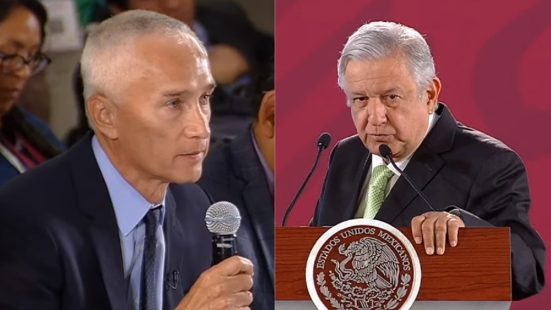 EN VIVO: Polemizan AMLO y Jorge Ramos de Univisión por inseguridad