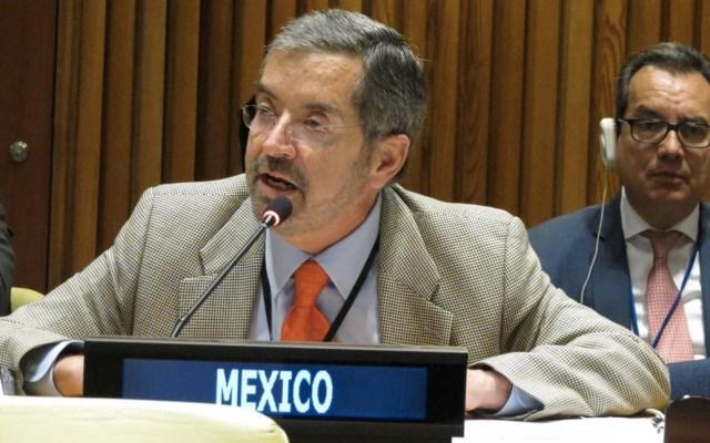 México apoya creación de Zonas Libres de Armas Nucleares - México Juan Ramón de la Fuente ONU armas nucleares