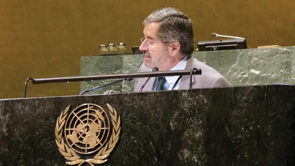 México respalda multilateralismo en la ONU - ONU