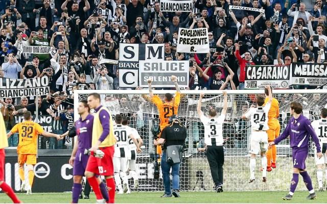 Juventus, octacampeón de la Liga Italiana - juventus liga italiana