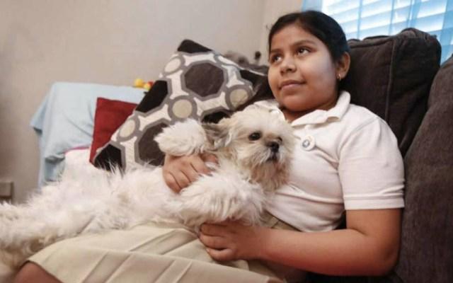Suspenden deportación de niña salvadoreña de Estados Unidos - Foto de Houston Chronicle