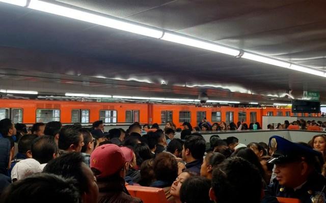 Metro, al borde del colapso operativo e institucional: ONG - Foto de @lagunes666