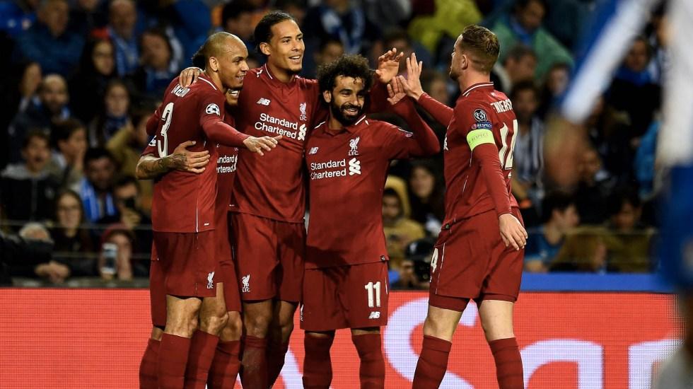 Liverpool golea al Porto y avanza a las semifinales de Champions - Foto de @LFC