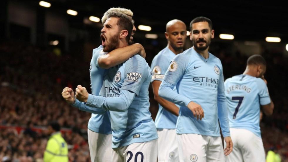Manchester City recupera el liderato tras ganar el derbi en Old Trafford - Foto de @premierleague