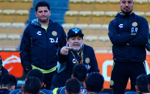 Maradona anuncia que dejará Dorados - Foto de @Dorados