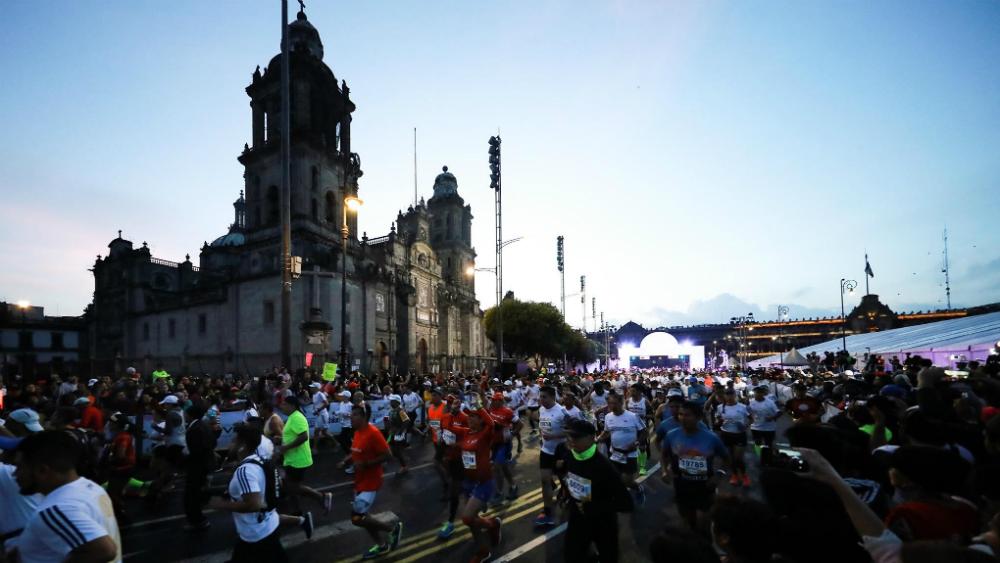 Cambian ruta del Maratón de la Ciudad de México. Noticias en tiempo real