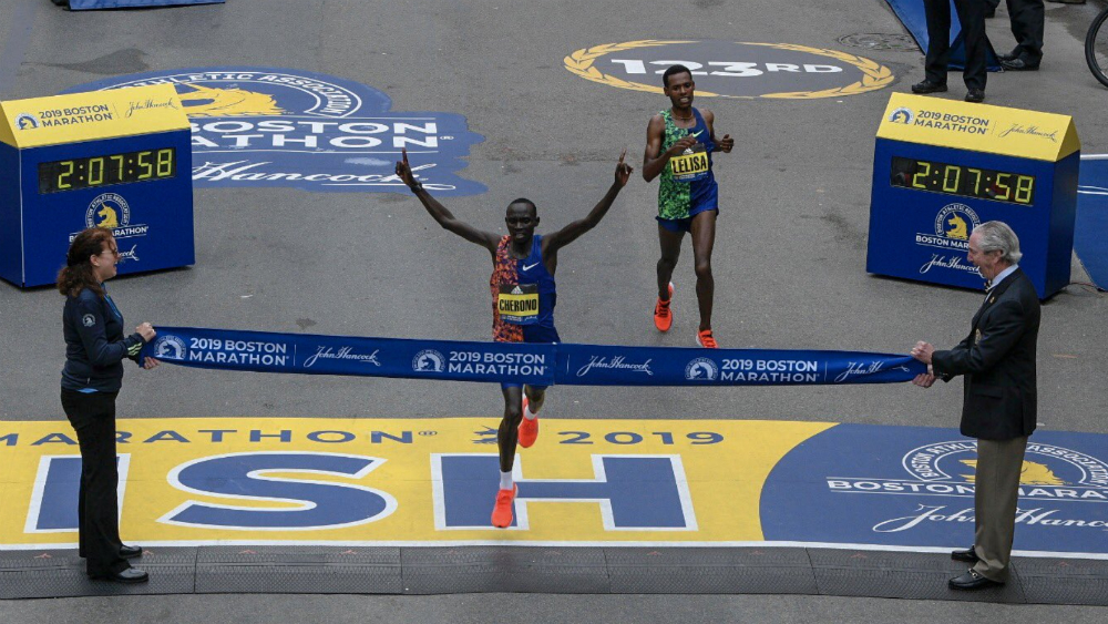 Lawrence Cherono gana el Maratón de Boston. Noticias en tiempo real