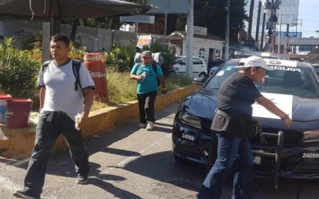 Descubren a mexicanos haciéndose pasar por migrantes en Edomex - mexicanos se hacen pasar por migrantes