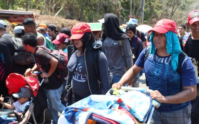 Caravana migrante podría alcanzar las 5 mil personas - Foto de Notimex/Ashlei Espinoza