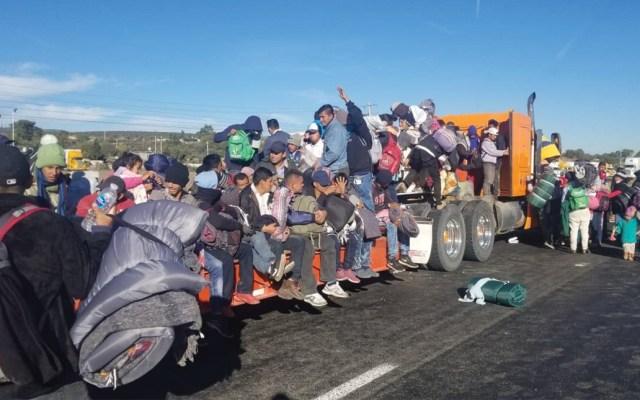 Honduras denuncia secuestro de 14 migrantes en México - Foto de Notimex