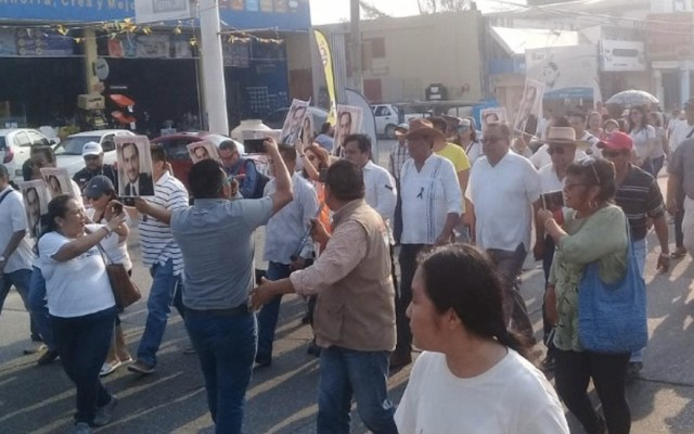 Marchan en Minatitlán para exigir mayor seguridad - Minatitlán violencia marcha seguridad