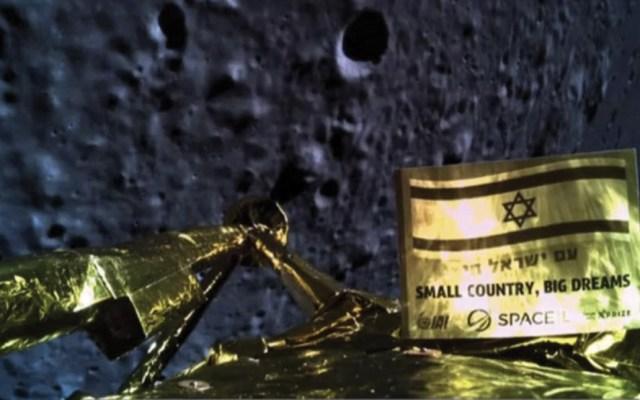 Nave israelí falla al intentar aterrizar en la Luna - Foto de @TeamSpaceIL