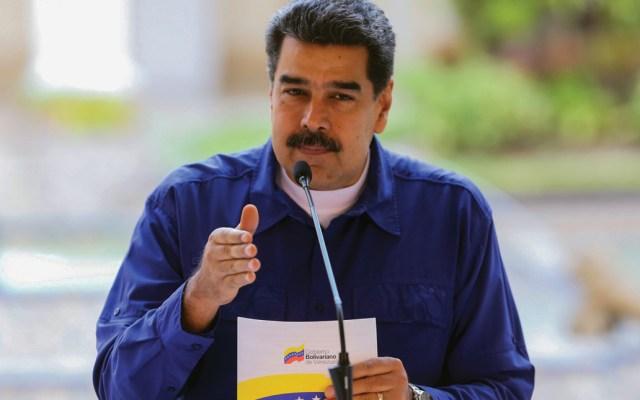 Maduro anuncia alianza con la Cruz Roja para recibir ayuda humanitaria - Foto de AFP