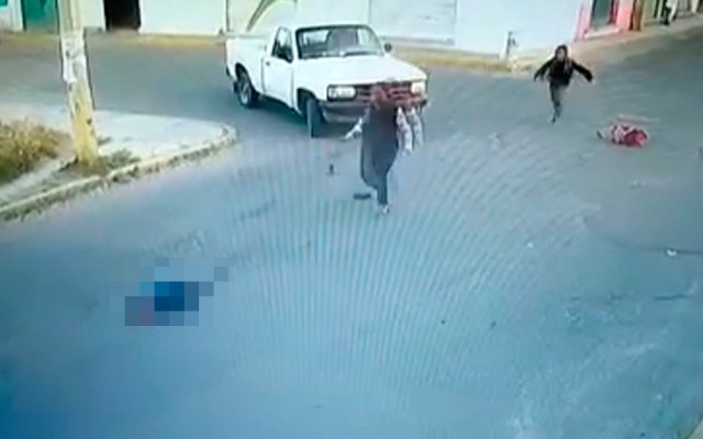 #Video Atropellan a niño en Huejotzingo, Puebla