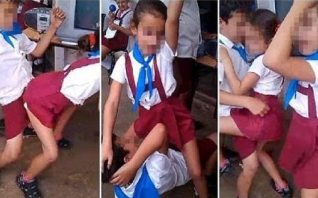 Diputados de Morena buscan prohibir el reggaetón en escuelas - Niños bailando reggaeton en escuela. Foto de CEN