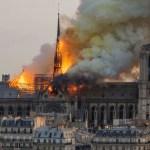 Cortocircuito, la causa más probable del incendio de Notre-Dame