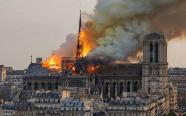 Cortocircuito, la causa más probable del incendio de Notre-Dame - incendio catedral de notre-dame cortocircuito
