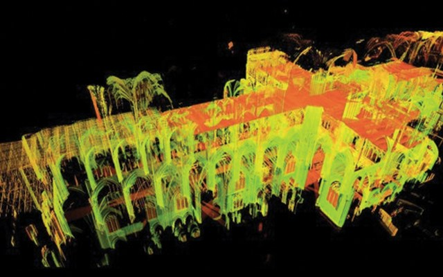 Recrean Notre-Dame gracias a herramientas digitales - Foto de Vassar College