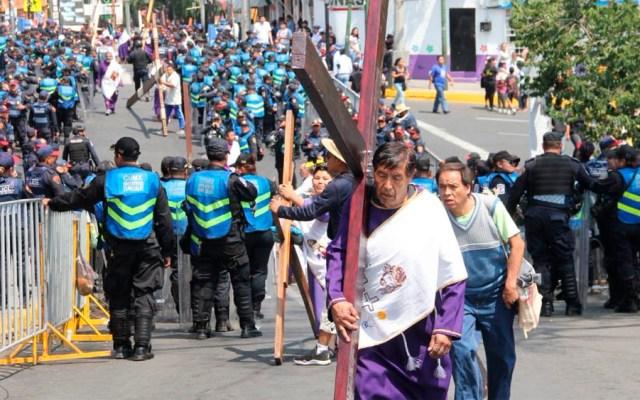 Saldo blanco durante operativo Semana Santa en la Ciudad de México - Foto de @SSP_CDMX
