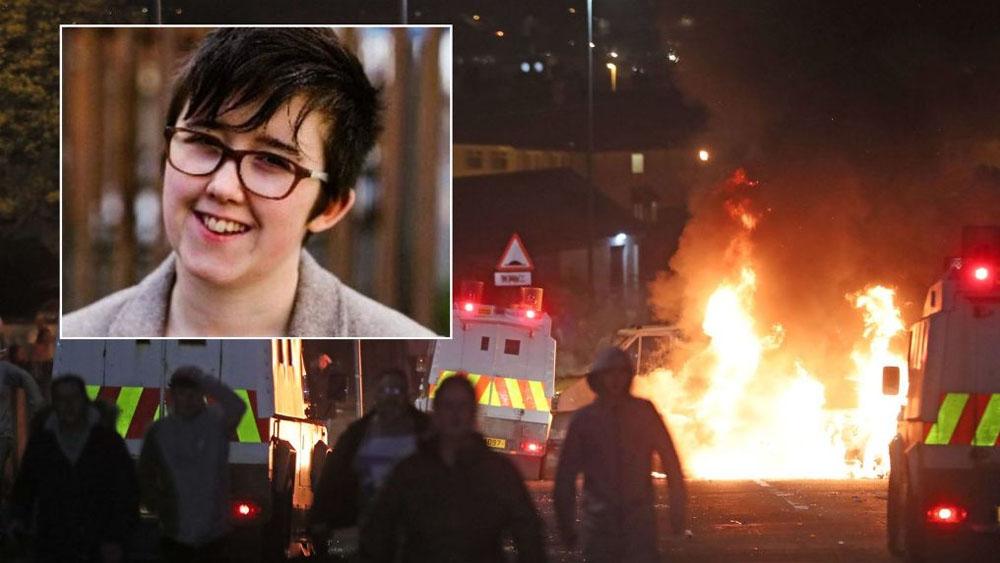 Matan a periodista durante disturbios en Irlanda del Norte - Foto Especial