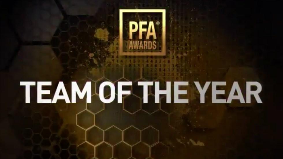PFA presenta once ideal del año de la Premier League - Foto de PFA