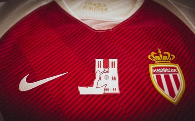 PSG y Mónaco utilizarán playeras especiales por incendio de Notre-Dame - Foto de Monaco