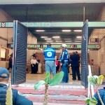 Muere policía tras ser arrojado a las vías del Metro Bondojito - Foto de @grawperez