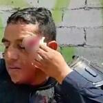Grupo de choque hiere a policía estatal de Oaxaca durante enfrentamiento - Foto de Oaxaca