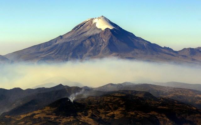 Semáforo de Alerta Volcánica del Popocatépetl vuelve a fase 2 - El Volcán Popocatépetl. Foto de Notimex-Arturo Monroy.