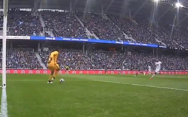 #Video Portero del NYC FC comete increíble autogol - Captura de pantalla