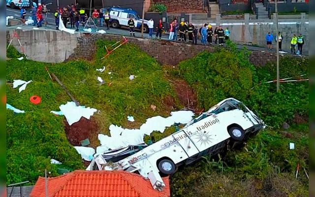 Accidente de autobús deja 28 muertos en Portugal - Foto de AFP