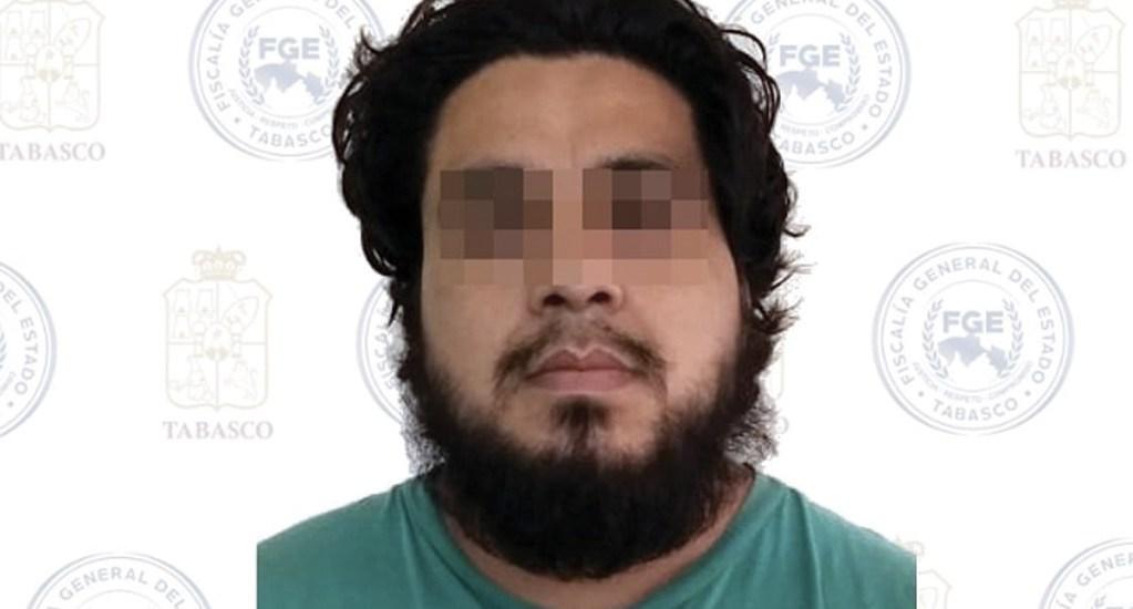 Detienen a presunto feminicida en Tabasco - Tabasco