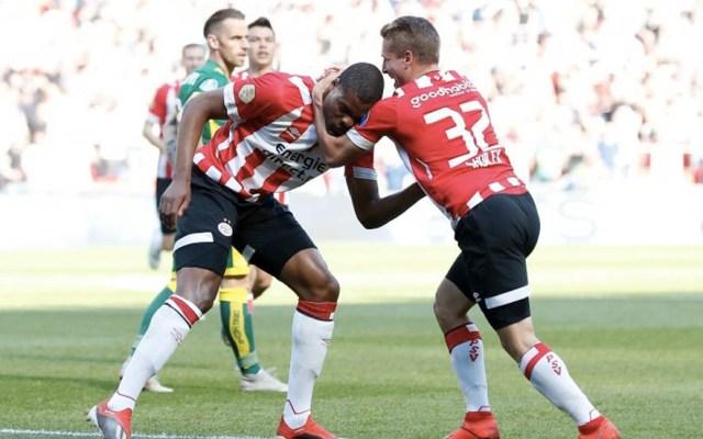 PSV se impone ante el ADO Den Haag con 'Chucky' y 'Guti' en la cancha - Foto de @PSV