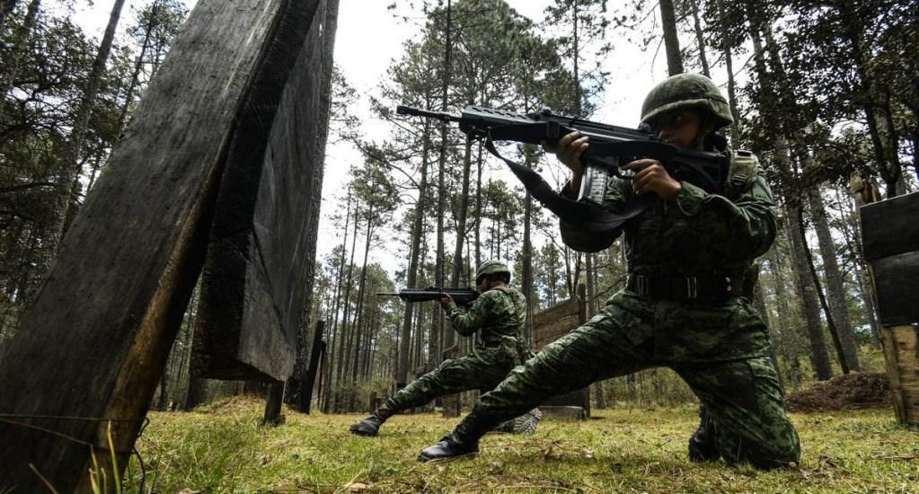 Acreditan a SEDENA como centro de capacitación especializado en seguridad - Sedena Soldados elementos México mariguana