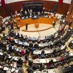 Discuten en el Senado la ratificación del T-MEC - Senado de la República. Foto de Notimex