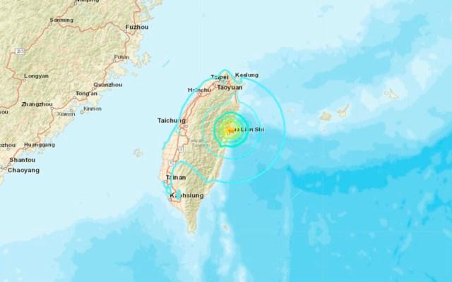 #Video Sismo de magnitud 6.0 sacude Taiwán - Foto de @Terremoti7