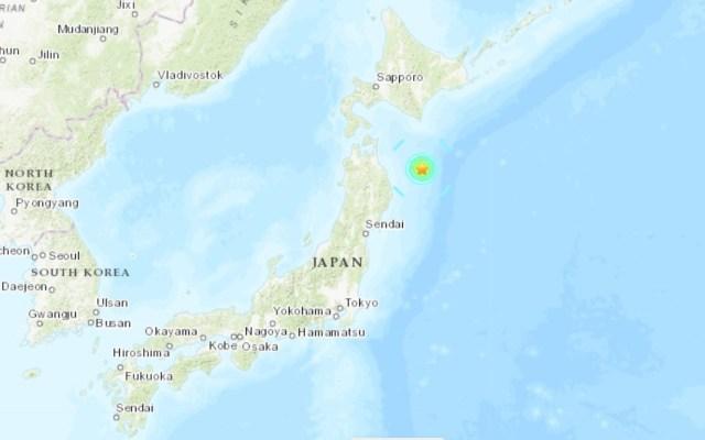 Terremoto magnitud 6.1 golpea a isla de Japón - Sitio de temblor en Japón. Captura de pantalla / USGS