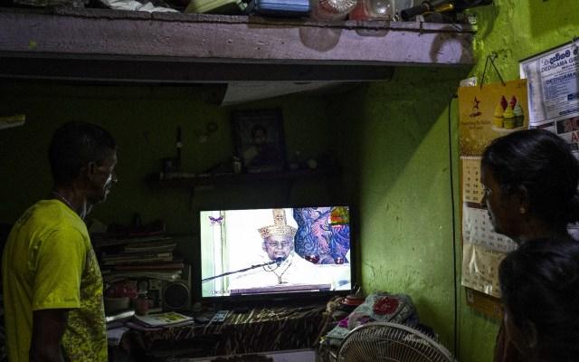 Transmiten misas por televisión en Sri Lanka por temor a nuevos ataques - atentados ataques Semana Santa Sri Lanka misa Televisión